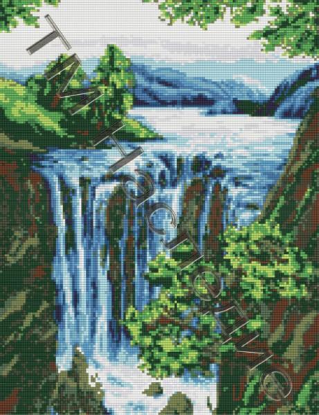 Большая схема водопад